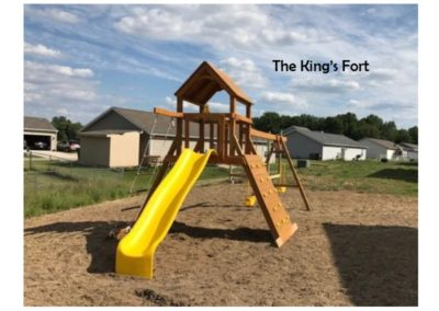 kings fort kids custom playset delivered to you