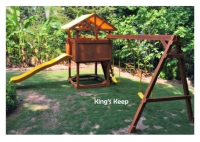 kings keep kids custom playset delivered to you