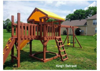 Kings retreat custom playset delivered to you
