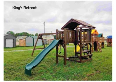 the retreat custom playset delivered to you