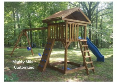 Mighty mite custom kids playset delivered to you near me