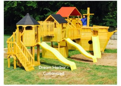 Dream Harbor Custom Designed Playset