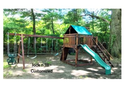 jack n jill custom playset delivered to you