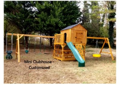 Custom designed clubhouse playset delivered near me