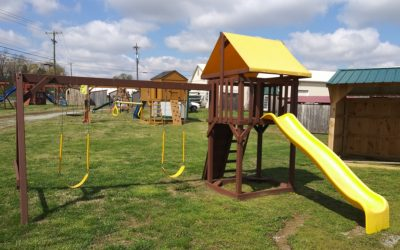 Display Mighty Mite Playset